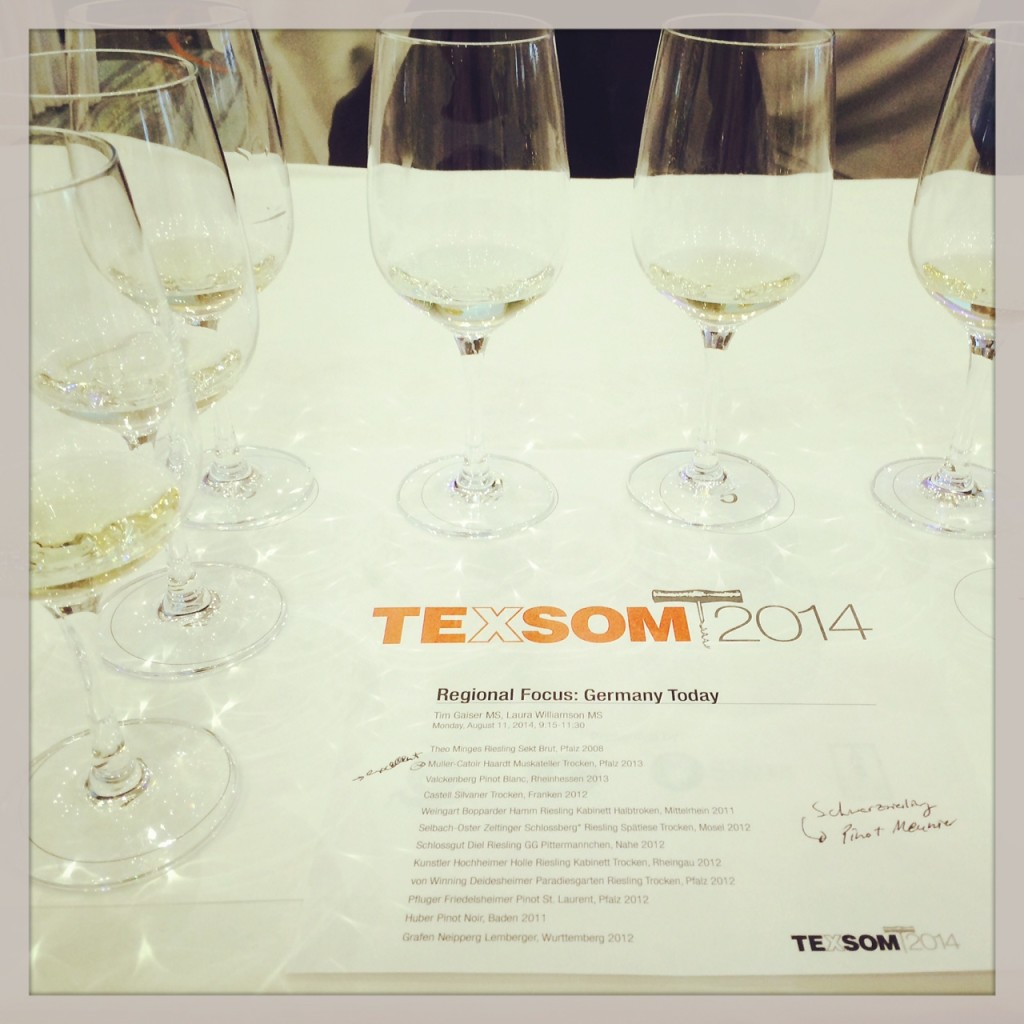 Texsom Germany Tasting